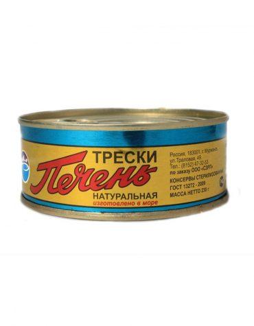Купить ПЕЧЕНЬ ТРЕСКИ ж/б в СПб