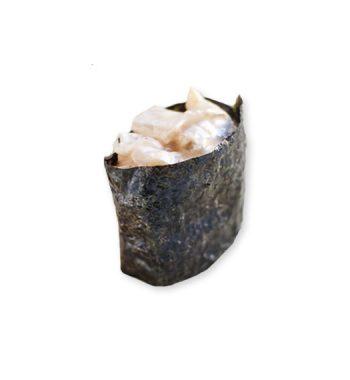 Суши с палтусом копченым острым купить в СПб с доставкой на дом